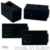 "Wet Sounds Refurbished Stealth 10 Ultra V2 Black + UTV Mounting Kit, Slider bracket and Round 1.75"" Tube clamp"