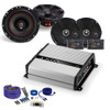 """JL Audio JX400/4D Amplifier with MB Quart ZC1-216 6.5"""" Component Speakers, XK1-116 6.5"""" Coaxial Speakers and Amp Kit"""
