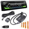 JVC KD-T910BTS - CD Receiver w/ Bluetooth, USB, Amazon Alexa + Included SirusXM SXV300 Satellite Radio Tuner
