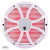 Wet Sounds REVO 10CX SW-W White SW Grill 10 Inch Marine High Performance LED Coaxial Speakers (pair)