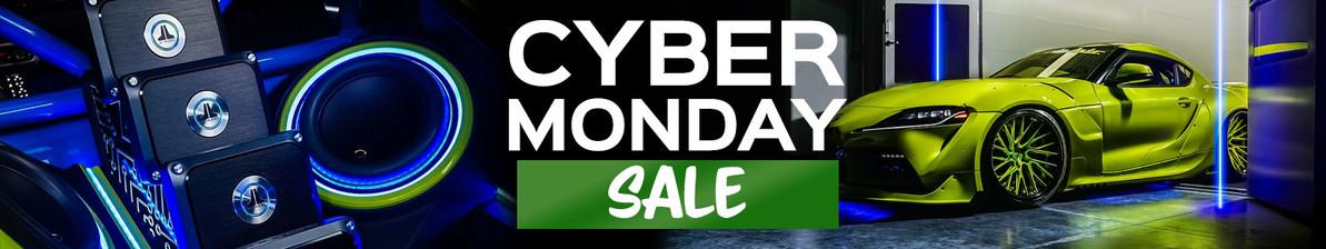 Cyber Monday Sale Schedule!