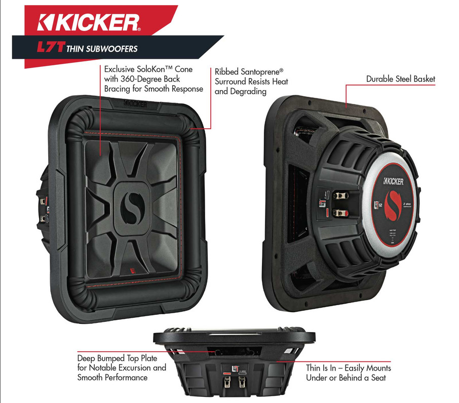 Kicker L7s for your TRUCK!