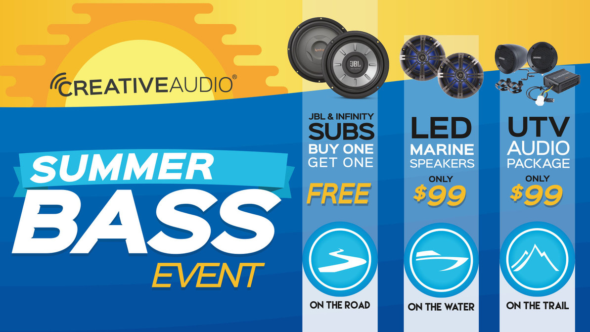 Retail Store Summer Bass Event !