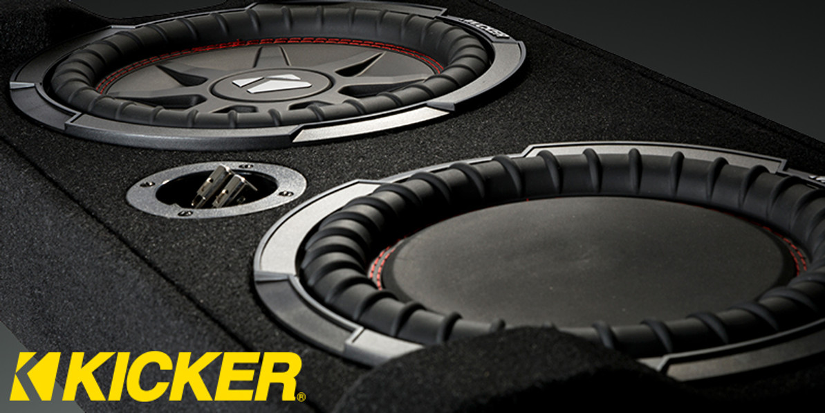 Kicker TRTP Enclosures have arrived!