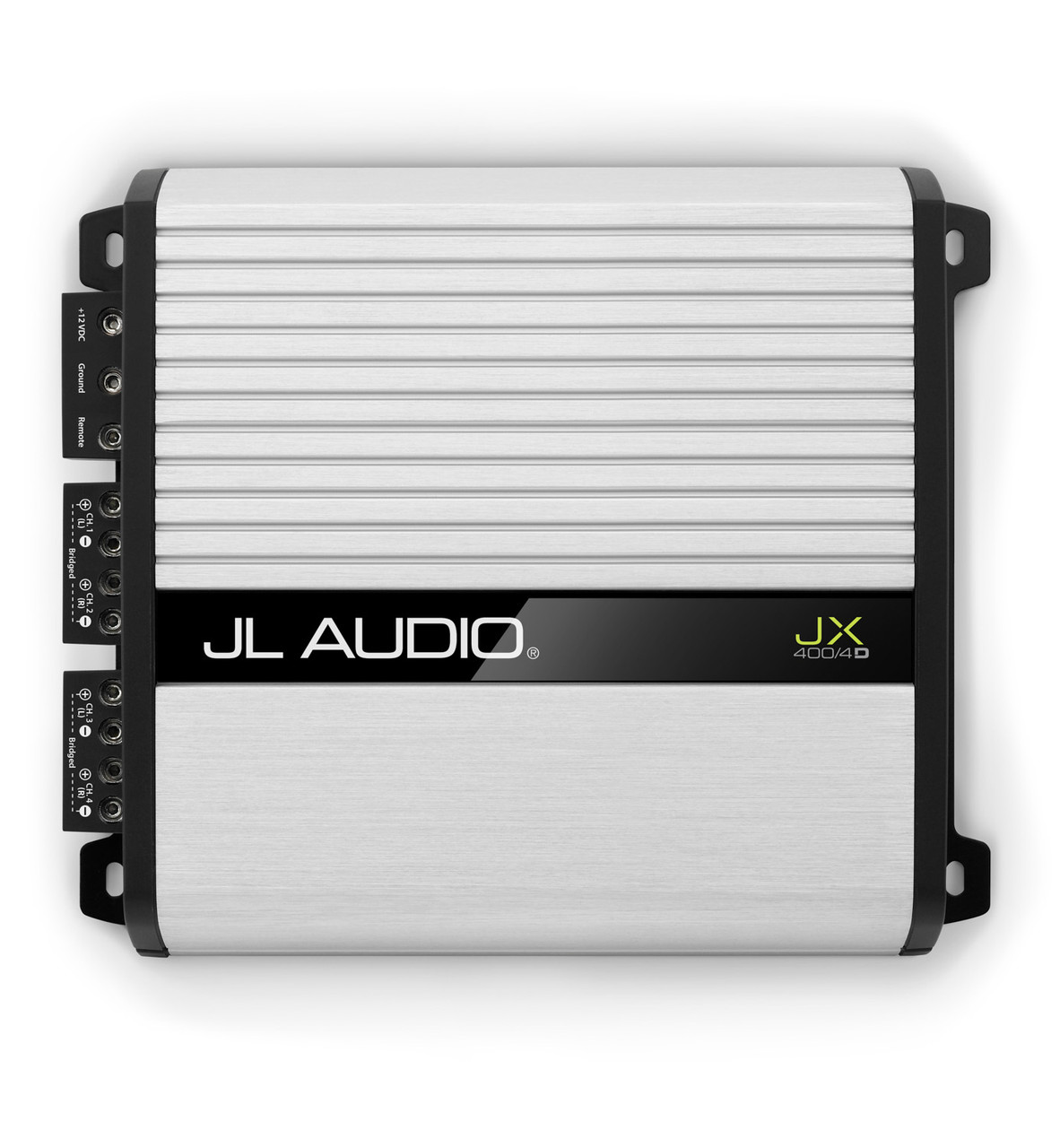 JL Audio Refurbished JX400/4D 4-channel Class D full-range amplifier