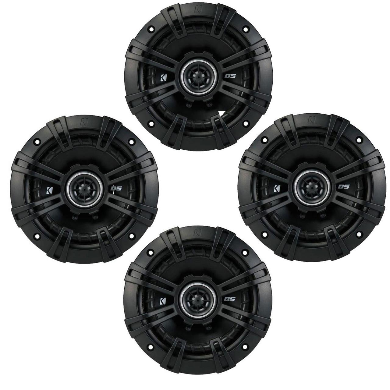 4-Ohm Kicker DSC50 5.25-Inch Pair Coaxial Speakers 130mm