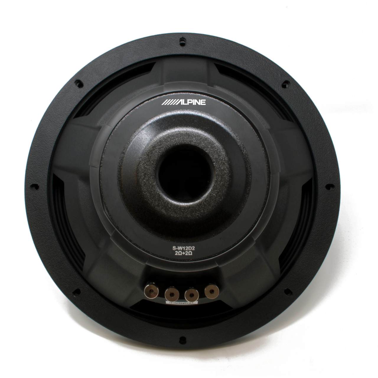 Alpine Subwoofer Package Two S-W12D2 S-Series 12 Dual 2-Ohm Subwoofers