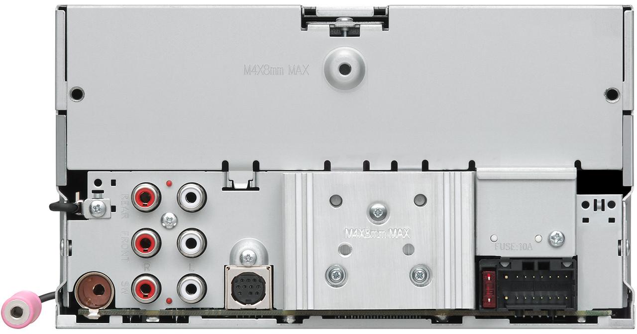 JVC KD-TD90BTS In-Dash CD//AM//FM//Digital Media Car Stereo Receiver with Text LCD