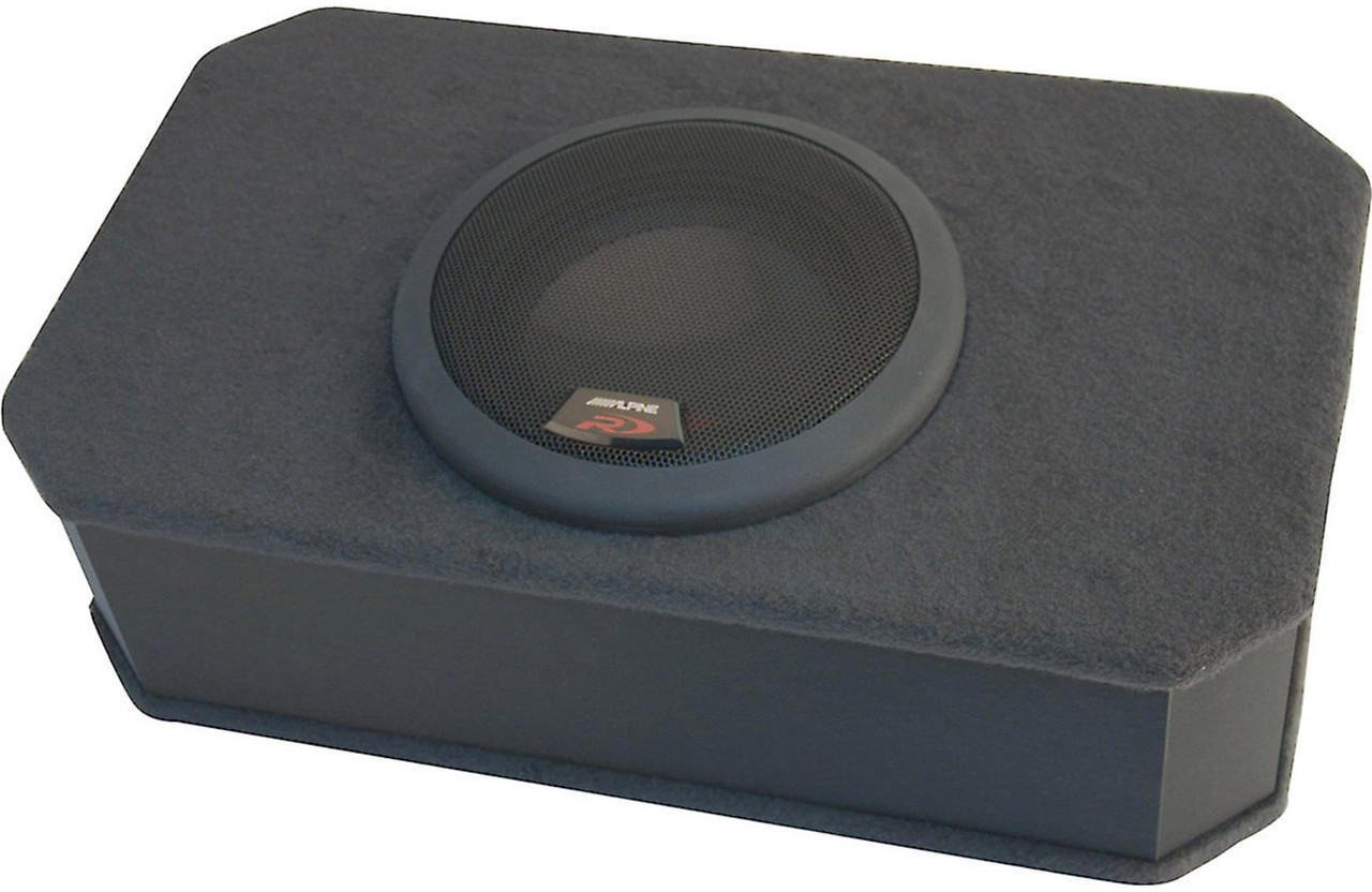 Alpine PDR-F50 4-Channel Amplifier w/ Type-R R-S69 6x9 Coaxial Speakers and  SBR-S8-4 8 Inch Enclosure & wire kit