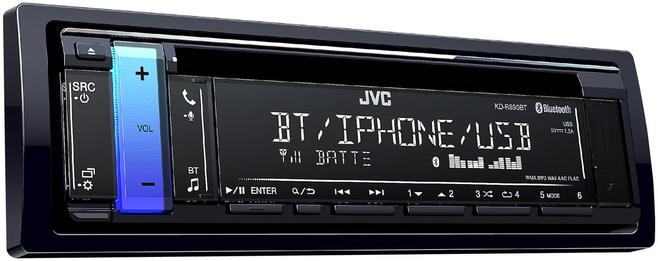 JVC KD-R890BT Refurbished Compatible with Bluetooth / USB / Pandora on
