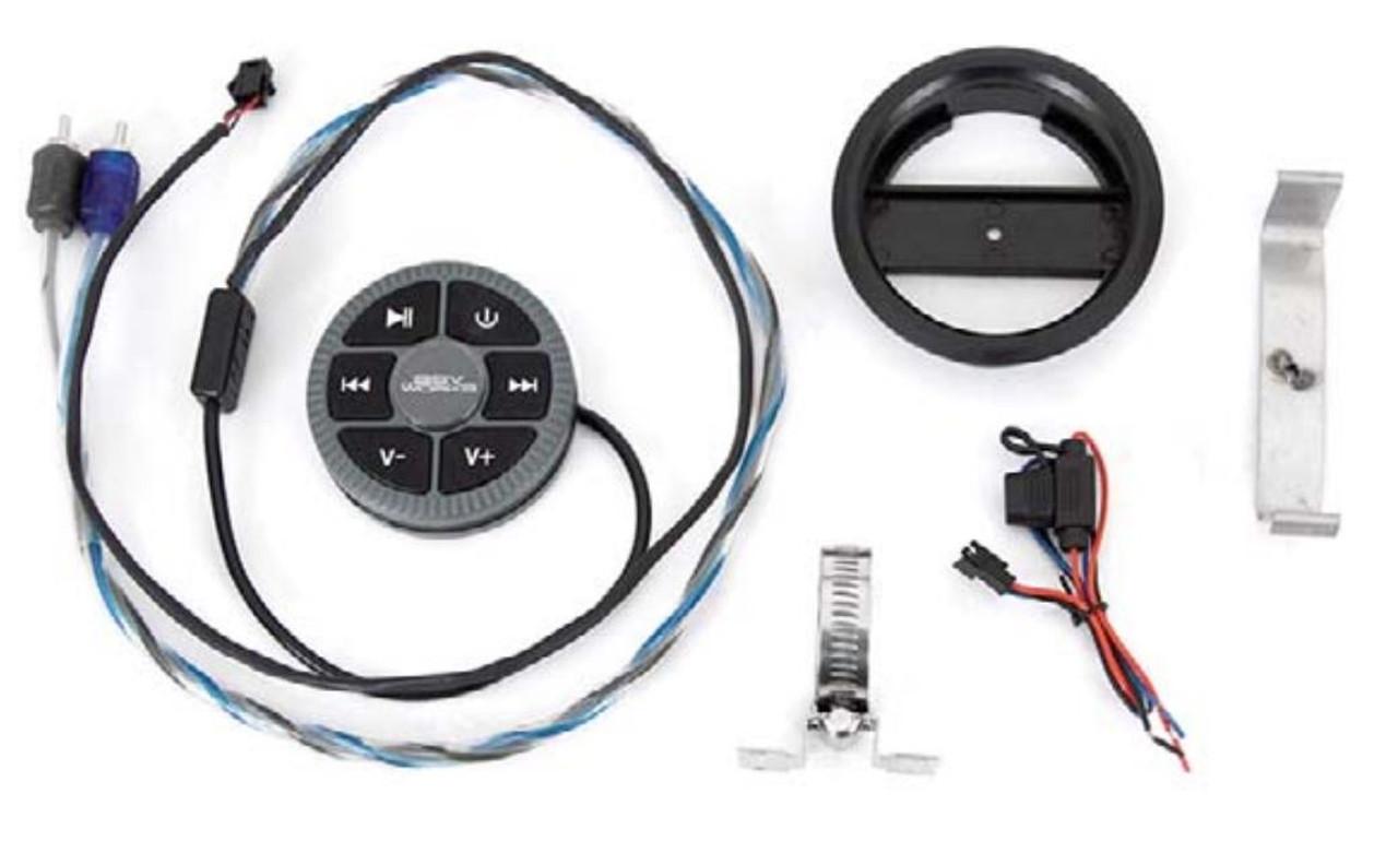 SSV Works Bluetooth Media Head Unit With LCD Display MRB3