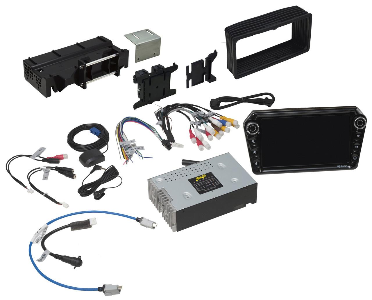 touch audio wiring stinger elev8 un1880 am fm audio video receiver w 8 inch touch  stinger elev8 un1880 am fm audio video