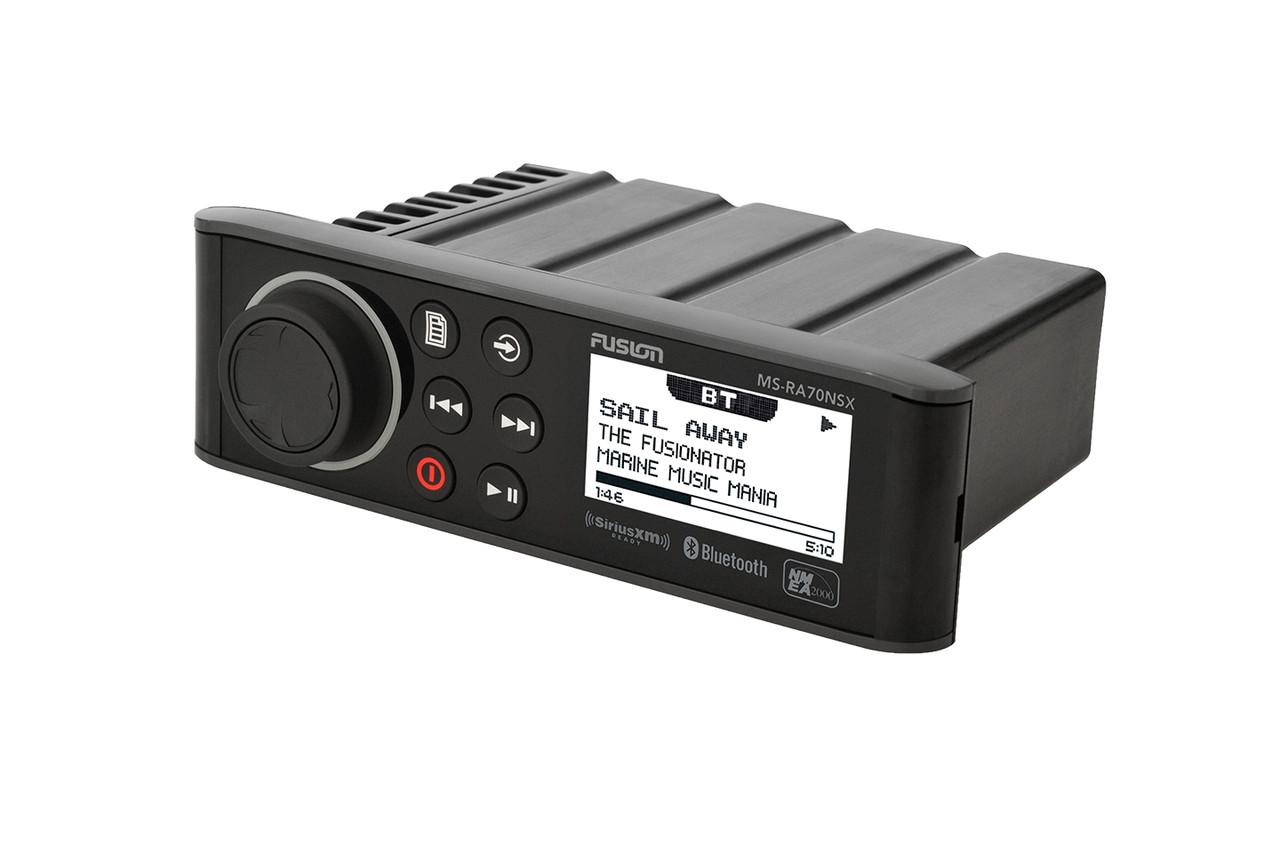 Fusion Marine MSRA70 Marine Receiver AM//FM Receiver with Bluetooth 4 x 50W