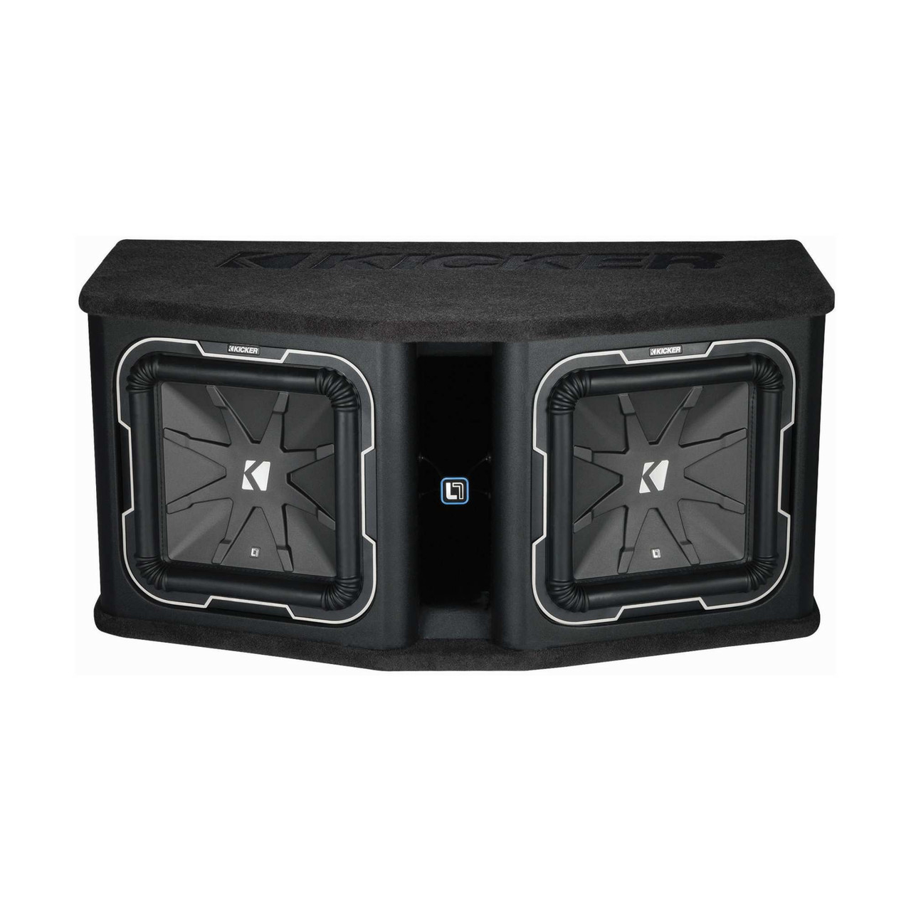 Kicker Q-Cl DL712 Dual KICKER L7 12-inch Subwoofers in Vented Enclosure, on mtx wiring diagram, re subwoofers 12 wiring diagram, kicker cvr 12 wiring, kicker dx 250.1 wiring-diagram, kicker cvr 15 wiring, kicker dx250.1 wiring, kicker comp 12 wiring diagram, jl audio w7 wiring diagram, audiobahn subwoofer wiring diagram, kicker sub wiring,