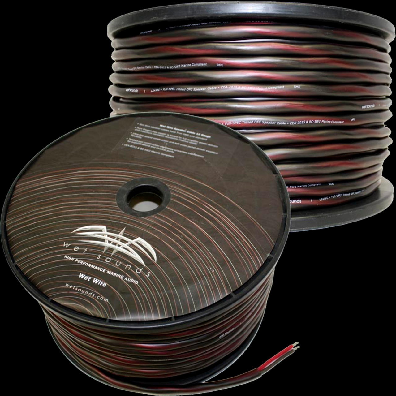 Wet Sounds 12 Gauge Speaker Wire - 250 feet