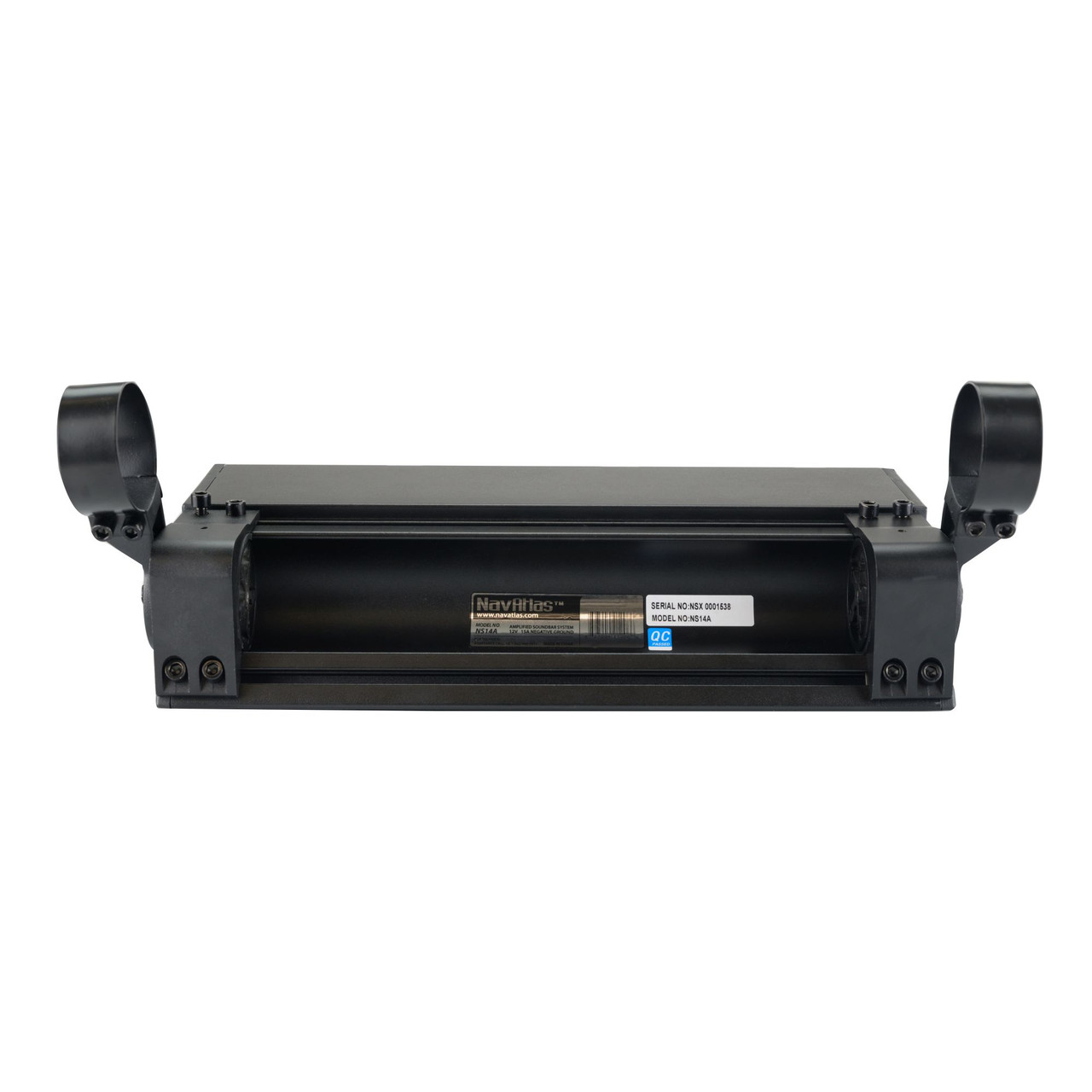 NavAtlas NS35A 35 12 Speaker Powersports Soundbar with Built-in 200 Watt Class-D Amplifier