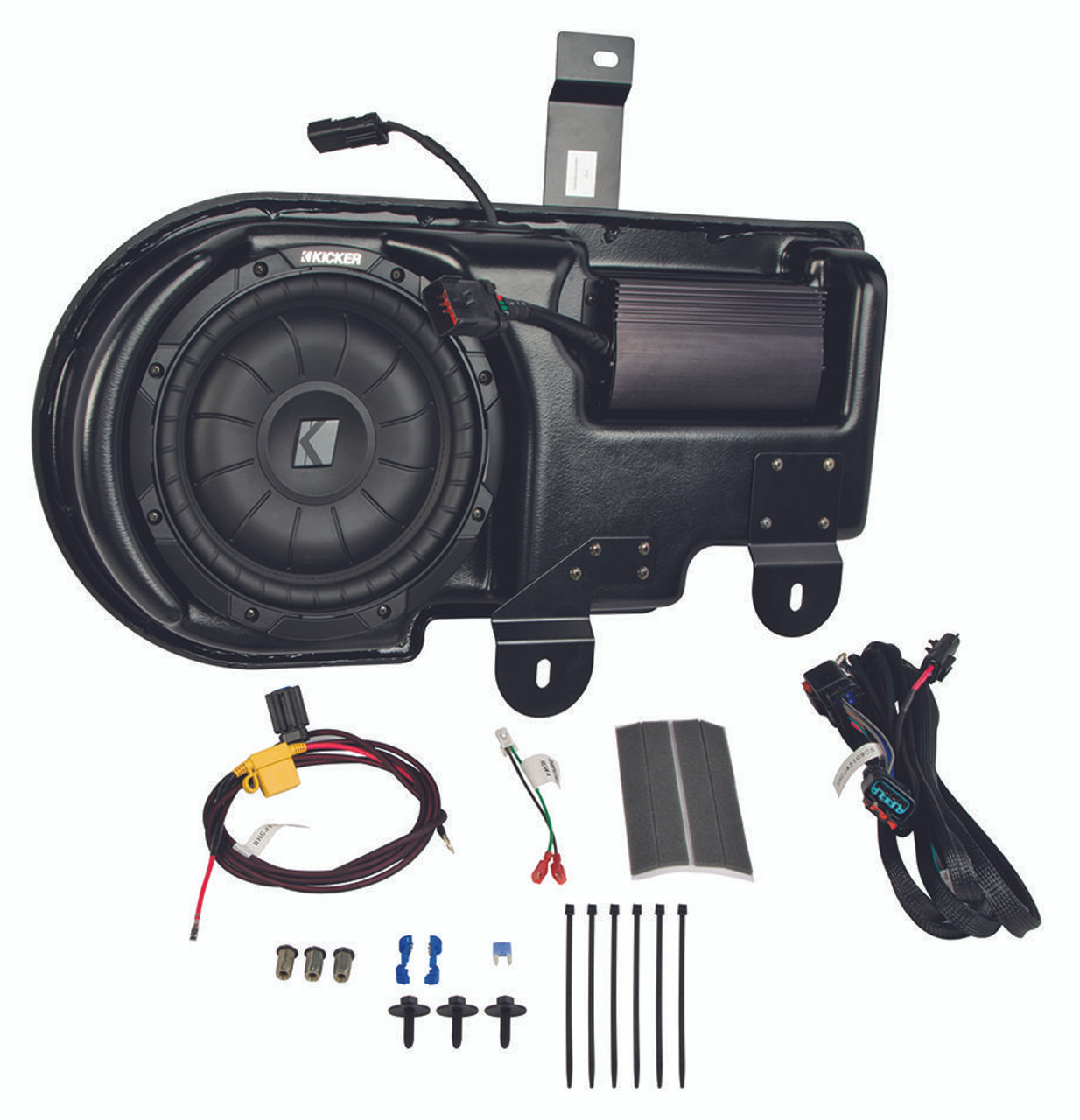KICKER SubStage Powered Subwoofer Upgrade Kit for 2009-2014 Ford F150 on