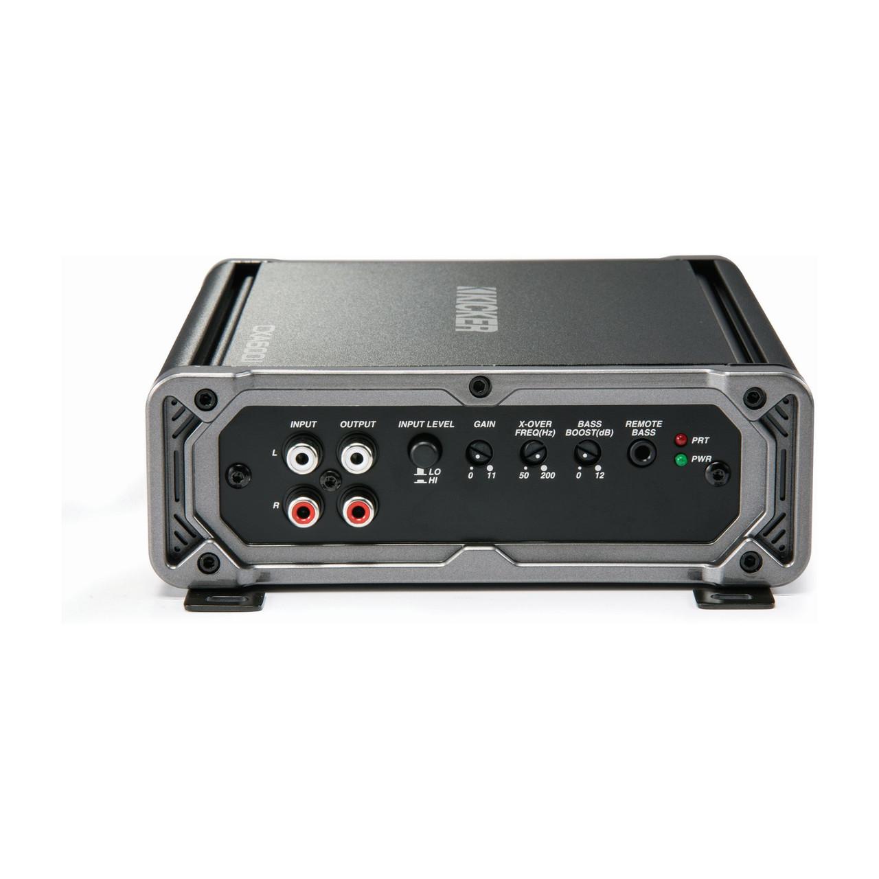 Kicker CXA600 1 600-Watt Mono Class D Subwoofer Amplifier