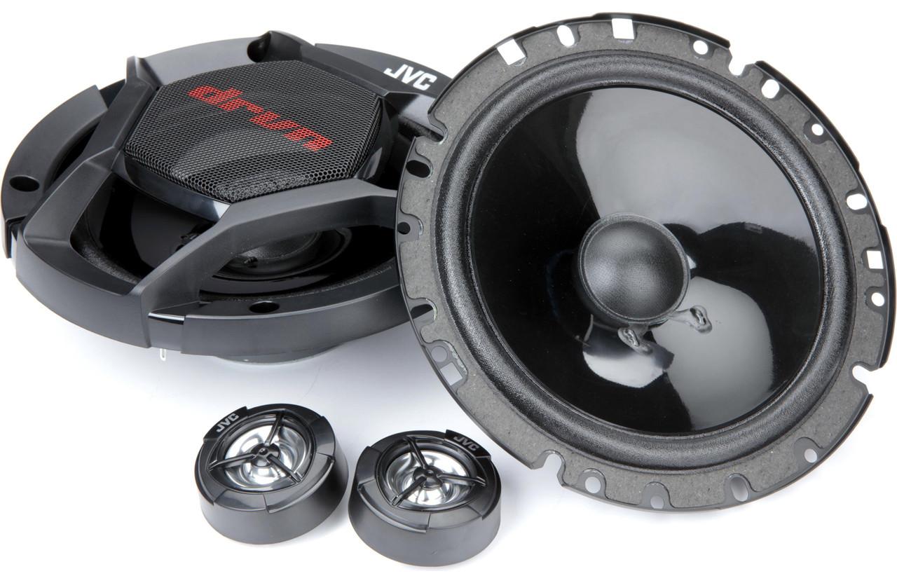 JVC CS-DR1700C 360W Peak (55W RMS) 6 75 2-Way Factory Upgrade Component  Speakers - Pair
