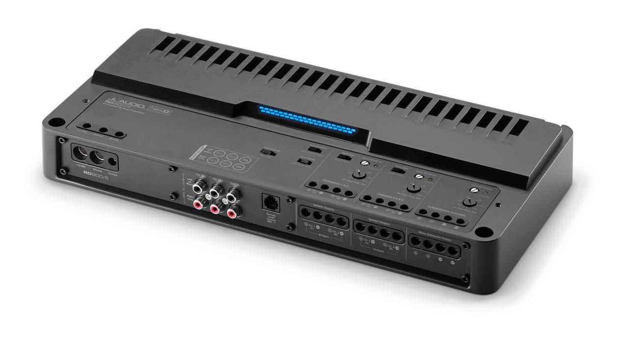 JL Audio RD900/5 900W Class D 5-Channel Full-Range Amplifier