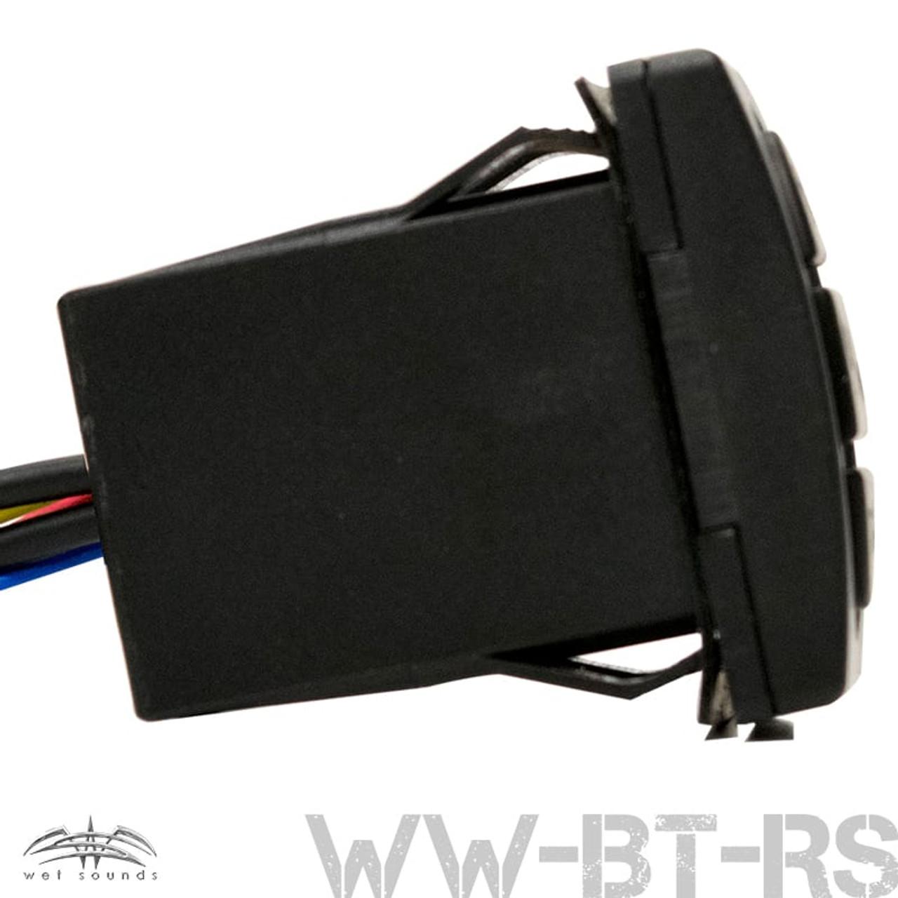 Universal Rocker Switch Bluetooth Receiver Audio Controller with AUX Input UTV-BTRS Waterproof UTV Powersports Accessories