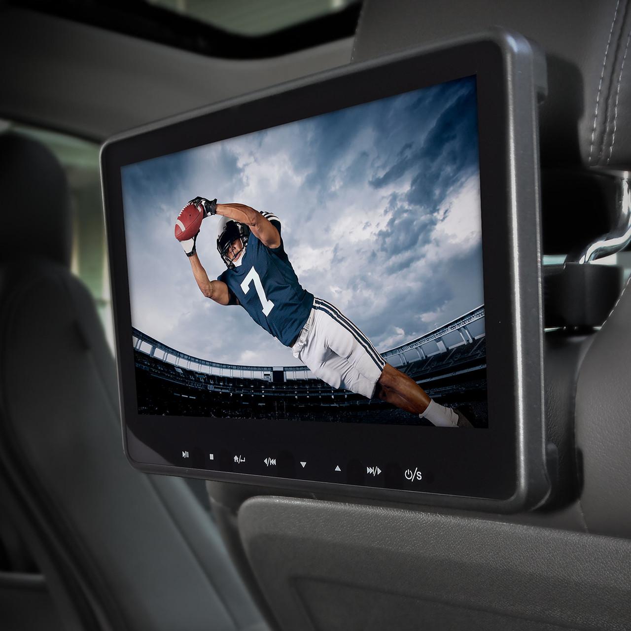 Audiovox AVX10USB Universal Seat-back Video system DVD//USB//SD//AV//Aux//HD