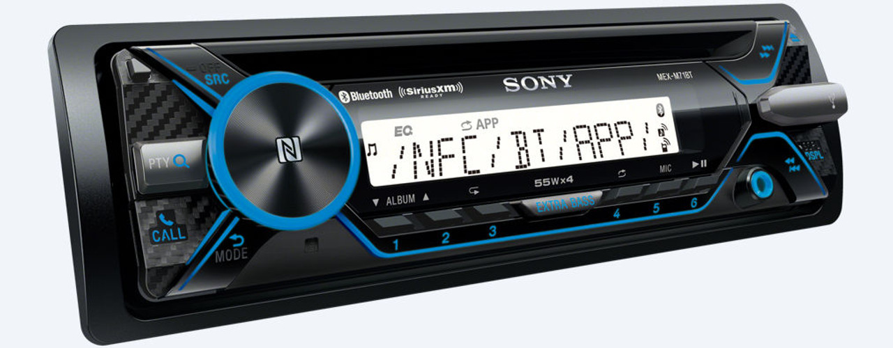 Sony Mex-M71Bt 1Din CD Receiver with Bluetooth