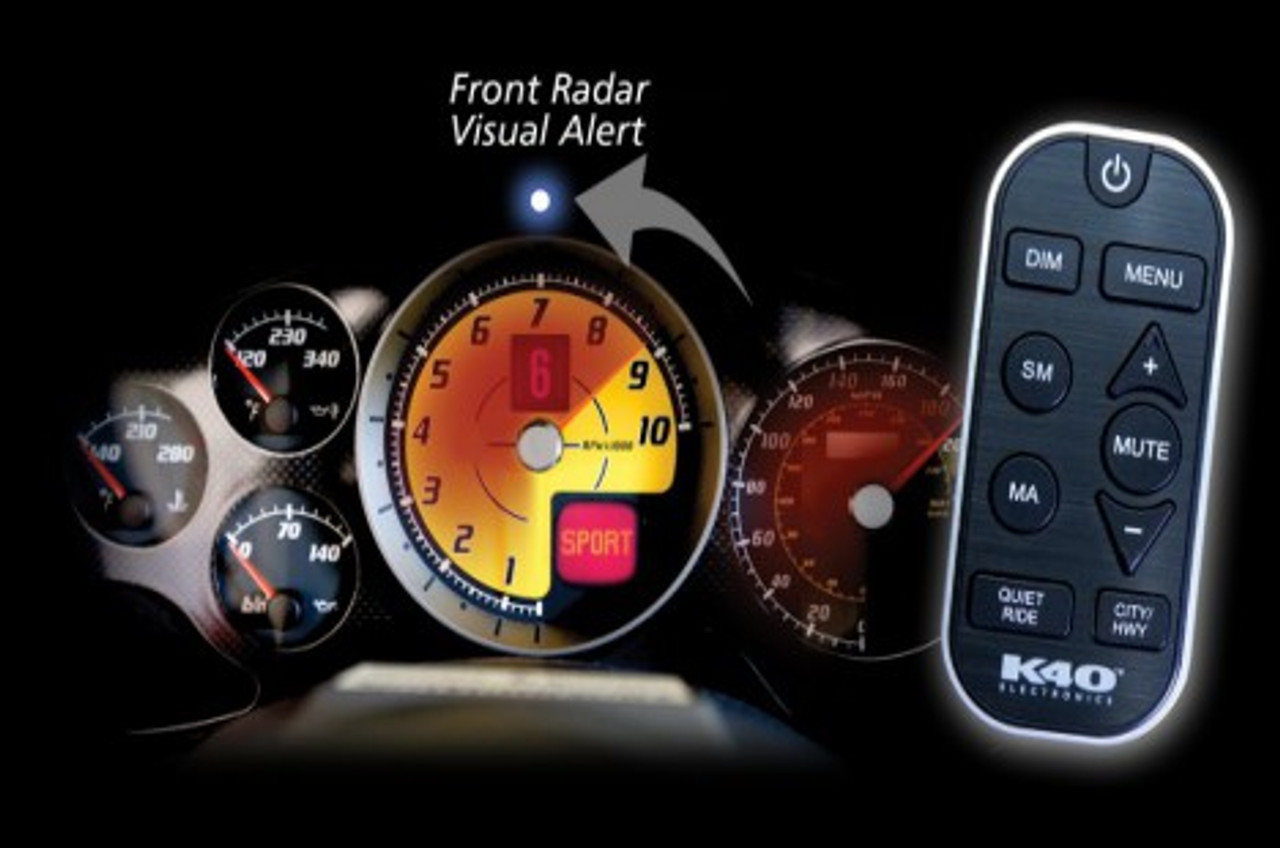 K40 RL200i Single Remote Radar w/GPS - Creative Audio on