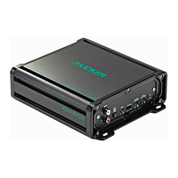 Kicker KMA150.2 2x60 Watt 2-Channel Weather-Resistant Marine Grade Full-Range Amplifier