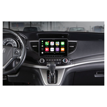 """Alpine iLX-F309 HALO9 9"""" AM/FM/audio/video Receiver w/ 9-inch Touch Screen and Mech-less Design - Single-DIN Mounting"""