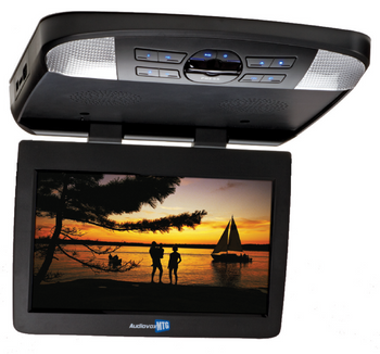 "Audiovox AVXMTG13UHD 13"" Digital LED back-lit monitor/built-in DVD player and HDMI/MHL input"
