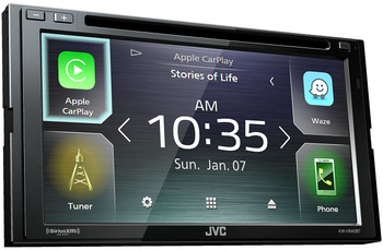 JVC KW-V840BT compatible with Android Auto / CarPlay CD/DVD Stereo / JVC WebLink