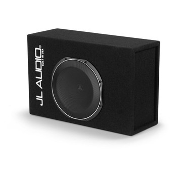 JL Audio CP112LG-TW1-2 MicroSub with 12TW1-2 ohm subwoofer driver (slot-ported)