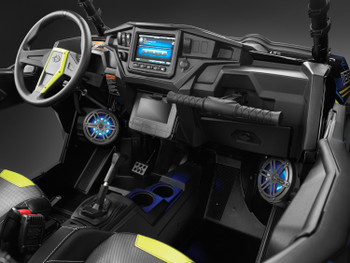 "JL Audio Stealthbox® for 2014-Up Polaris RZR, MX650 6.5"" Coaxial Speaker Pods"