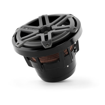 JL Audio M8W5-SG-TB: 8-Inch (200 mm) Marine Subwoofer Driver Titanium Sport Grilles
