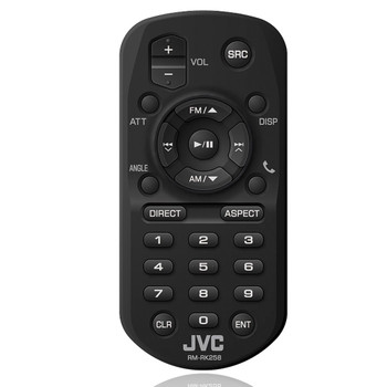 JVC RM-RK258 Wireless Remote Control for Multimedia Receivers