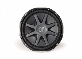 """Kicker Bass Package - Two 15"""" CompVX Dual 2 Ohm Subwoofers and a KX1600.1 1600 Watt RMS Amplifier"""