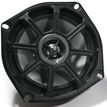 Kicker Motorcycle 5.25 Inch Speakers (2 pair) with Kicker 300 watt 4 channel Power sports amplifier