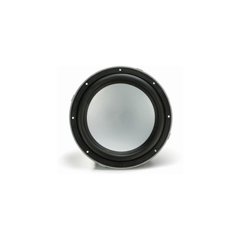 "Kicker 10"" 4-ohm Marine Free Air Subwoofer with included Silver Grille."