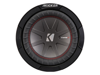 "Kicker 43CWR84 8""  Dual Voice Coil 4 ohm Comp R woofers Bundle"