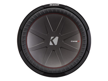"Kicker 43CWR154 15""  Dual Voice Coil 4 ohm Comp R woofers Bundle"
