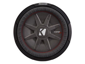 "Kicker 43CWRT122 12""  Dual Voice Coil 2 ohm slim line truck woofers Bundle"