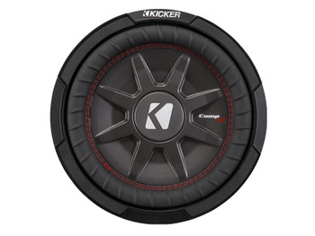 "Kicker 43CWRT102 10""  Dual Voice Coil 2 ohm slim line truck woofers Bundle"