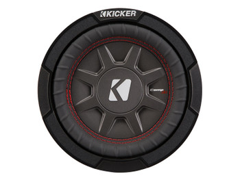 "Kicker 43CWRT671 6.75""  Dual Voice Coil 1 ohm slim line truck woofers Bundle"