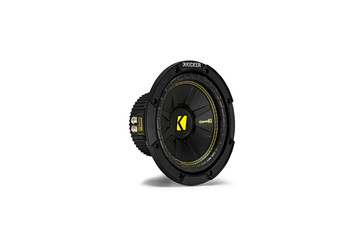 """Kicker CWCS84 CompC 8"""" Subwoofers Bundle Single 4-Ohm Voice Coil"""