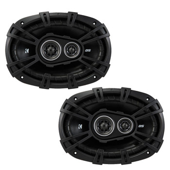 """Kicker For Late 90s Early 2000s GM Coupes & Sedans. A pair of 43DSC4604 4x6"""" Speakers & a pair of 43DSC69304 6x9""""s"""
