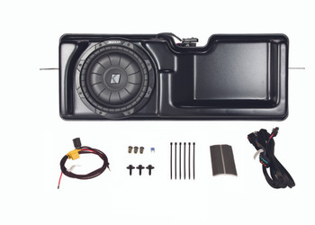 KICKER PowerStage Multi-Channel Amplifier & Powered Subwoofer Upgrade Kit for 2011 - 2012 Ford F-150 Super-Cab vehicles with base radio and for 2013 - 2014 Ford F-150 Super-Cab vehicles with non MyFord Touch radios.