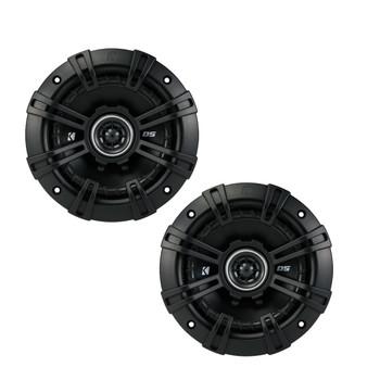 Kicker DSC50 5.25-Inch (130mm) Coaxial Speakers, 4-Ohm bundle