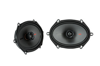 Kicker Speaker Bundle - Two pairs of Kicker 6x8 Inch KS-Series Speakers 44KSC6804