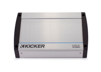 Kicker Marine Bundle with 40KXM4004 Amp+OEM Replacement LED Speakers + 41KMW104LC Sub